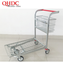supermarket trolley Cargo Shopping Cart JHD-WHT-093