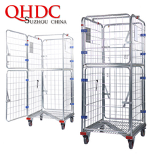 lockable storage trolley roll cage JHD-zcage
