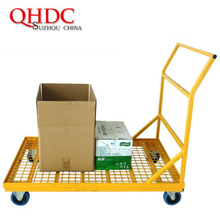 Four Wheel Cargo Trolleys Warehouse Storage Carts JHD-Y200