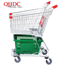 asia supermarket shopping trolley cart 60L