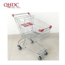 american supermarket cart shopping trolley 100L