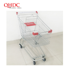 american supermarket cart shopping trolley 125L